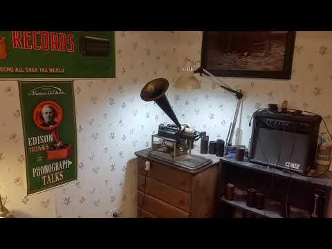 EDISON CYLINDER RECORDING BLANK / PAUL MORRIS BROWN WAX / INCREDIBLE RESULTS