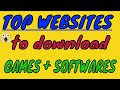 Top 2  Best Website For Download Pc Games + softwares For Free | Must Watch 2018 (HINDI)