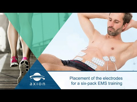 Ems Ab And Bicep Muscle Stimulator Workout Pads Review Doovi
