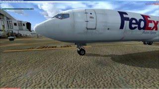 FSX | Captain Sim | Boeing 727 | cold&dark | multi crew experience | KDFW - KMCO