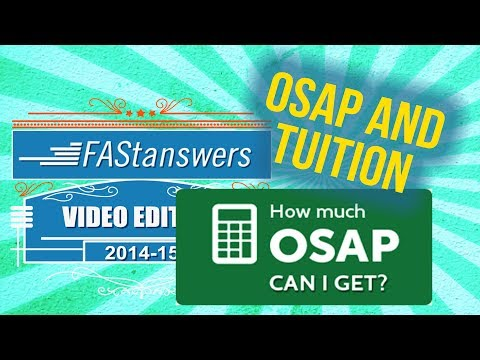 OSAP And Tuition For University Of Toronto (in 4 Minutes)