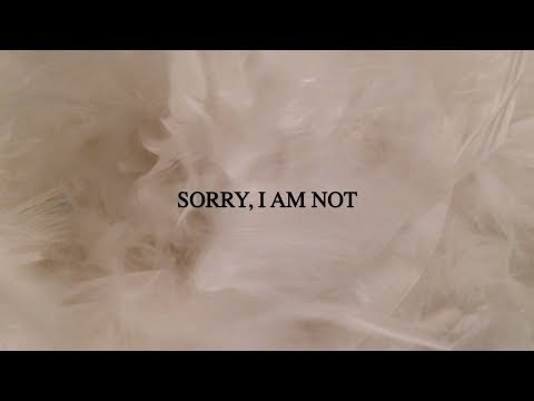 SHE TALKS SILENCE | Sorry, I Am Not (Official Music Video)