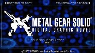 This is the End - Metal Gear Solid Digital Graphic Novel - PSP