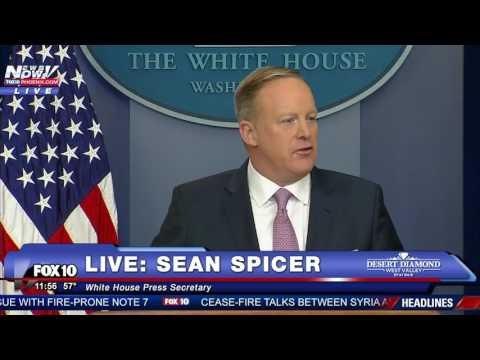 FULL: Sean Spicer's FIRST White House Press Briefing - FNN