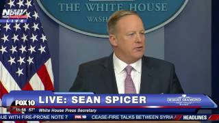 FULL: Sean Spicer's FIRST White House Press Briefing - FNN