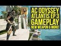 Assassin's Creed Odyssey Fate of Atlantis Episode 3 Gameplay - NEW UNIQUE WEAPON & More (AC Odyssey)