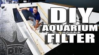 LIVE 2,000 gallon filtration and aquarium viewing panel work! thumbnail