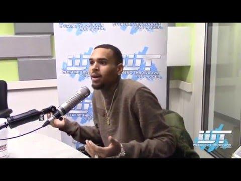 """Chris Brown sings """"MMMBop"""" on Weekend Throwdown"""