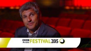 BBC Arabic Festival Judge, Jason Solomons مهرجان بي بي سي عربي