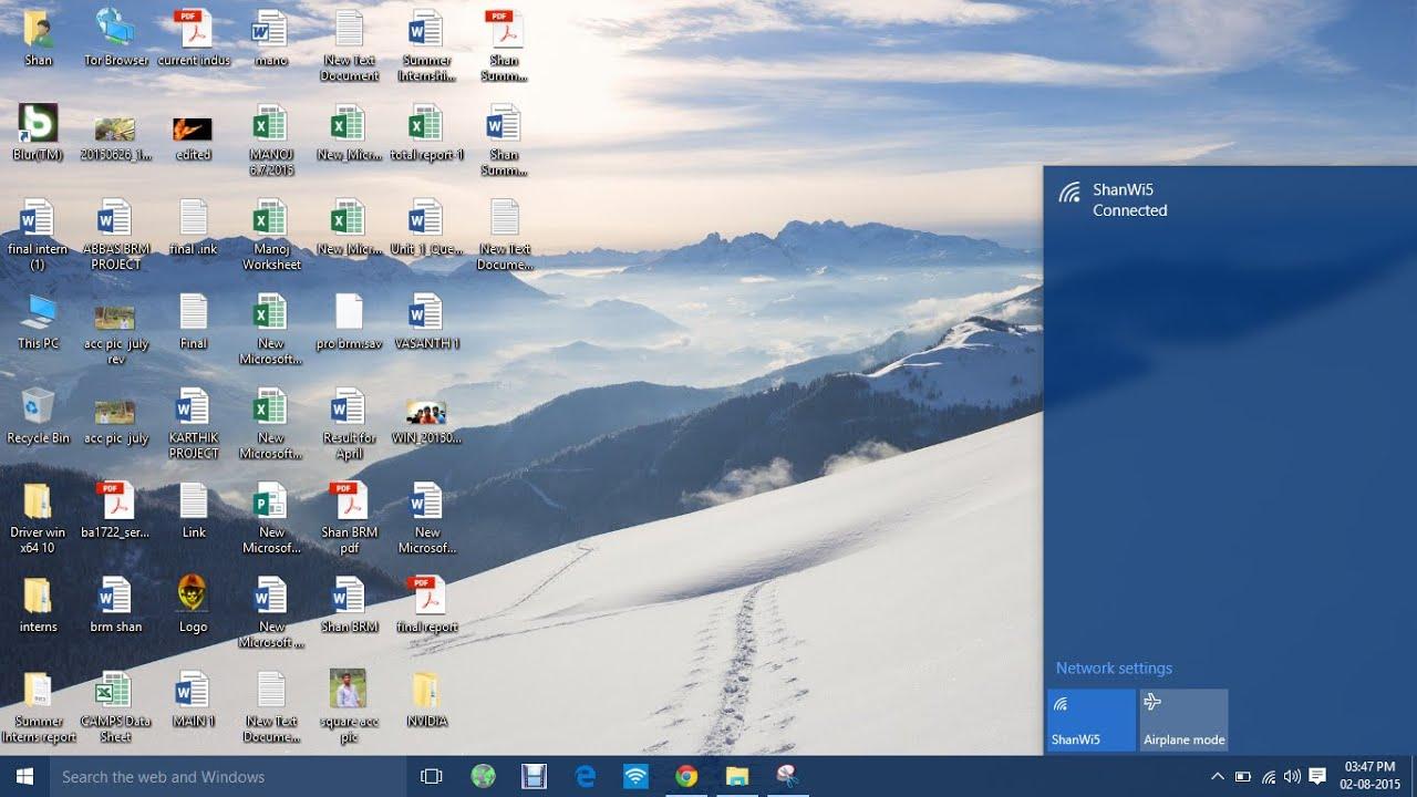 Fix Wifi Not Showing In Windows 10 Laptops Hp Youtube