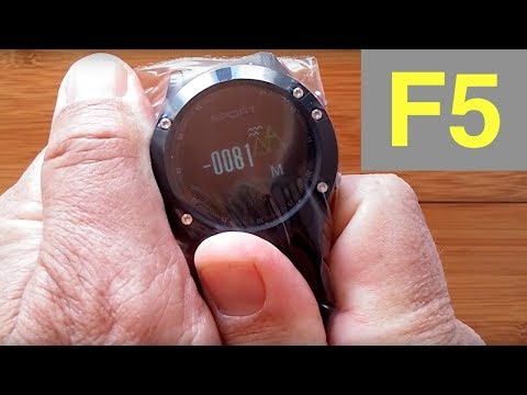 No.1 F5 Adventurer's Smartwatch with Temp, Altitude & More: Unboxing & Review