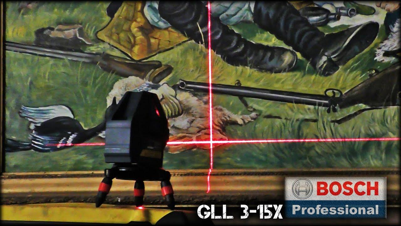 Инструменты выживания строителя/Лазерный нивелир Bosch GLL 3-15X /0601063M00/Laser level