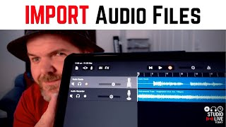 How to DOWNLOAD and IMPORT audio files in GarageBand iOS (iPad/iPhone)