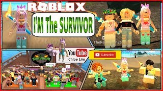 🌴 Roblox Survivor! 3 Codes and I WON SURVIVOR FOR THE FIRST TIME! Sorry for the long and LOUD video!
