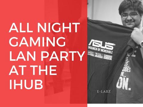 All-Night Gaming LAN Party at the iHub, Nairobi feat ASUS Computers