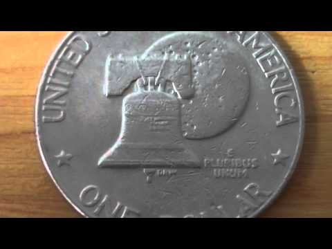 One Dollar Coin Of The USA From 1976 - E Pluribus Unum