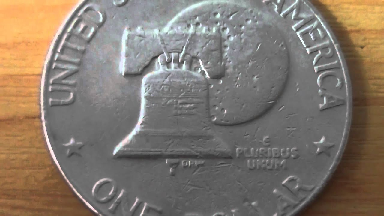 One Dollar Coin Of The Usa From 1976 E Pluribus Unum Youtube