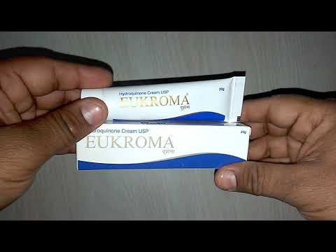 EUKROMA Cream चेहरा गोरा करने के लिए क्रीम Uses Composition Side Effect Precaution How to use review