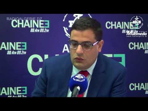 M. Abdelkarim Dahmani Directeur Général d'Algérie Poste pour la chaine 3