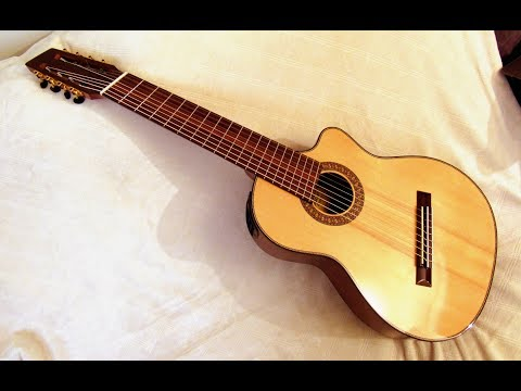 8-string Nylon Fanned Fret Guitar Review, Agile Instruments