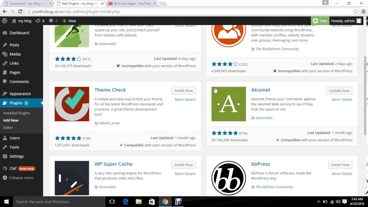 Lesson 5: Plugins | Wordpress Training (In Hindi)