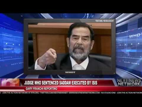 Judge Who Sentenced Saddam Executed by ISIS