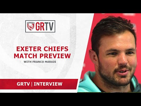 Marais hoping Gloucester Rugby make most of huge opportunity against the Chiefs