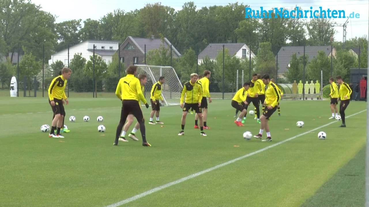 BVB-Training in Brackel am 15. Mai