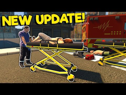 We are the Worst Paramedics in the New Update in Flashing Lights Multiplayer! |