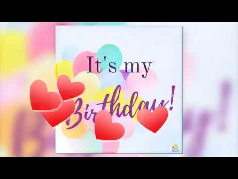 Happy Birthday To Me Whatsapp Status Video Youtube