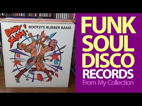 GREAT FUNK, SOUL & DISCO! - Vinyl Records from my Collection