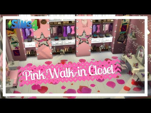 Y Pink Walk In Closet The Sims 4 Room Sd Build