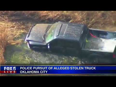 Wild Oklahoma City truck chase conclusion