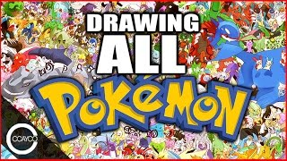 Drawing ALL 721 POKEMON!