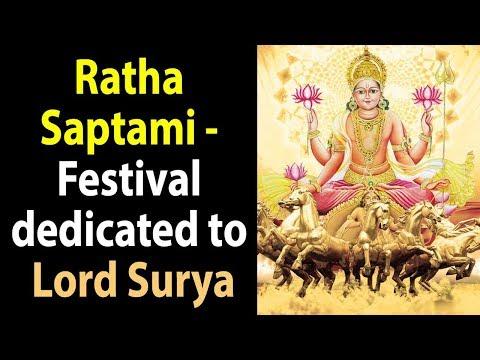 Ratha Saptami 2018   Festival dedicated to Lord Surya   Indian Festivals   ARTHA - AMAZING FACTS
