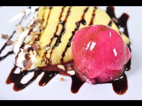 ซอร์เบท์ราสเบอร์รี่ - ไอศกรีมราสเบอร์รี่ Raspberry Sorbet