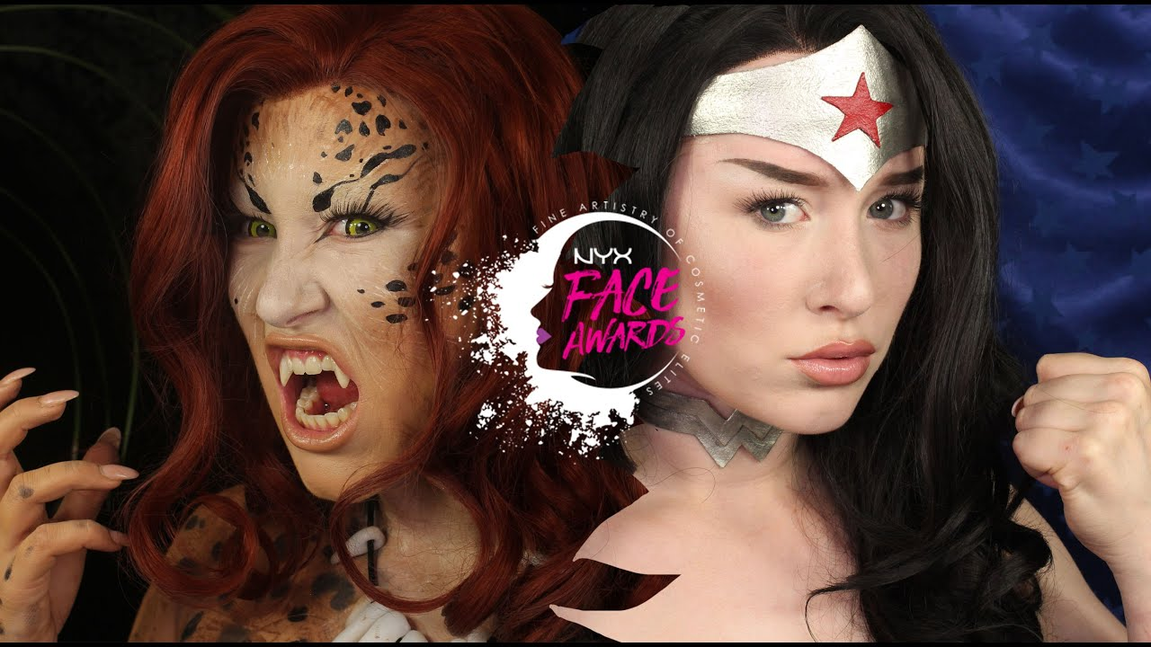 Nyx Face Awards Nl 2016  Wonder Woman Vs Cheetah - Youtube-1387