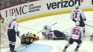 Gotta See It: Orlov's hit sends Hagelin head over heels into Holtby