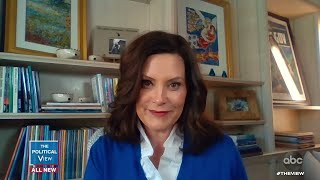 Gov. Gretchen Whitmer Addresses Michigan's COVID Response and Reacts to Armed Protestors | The View