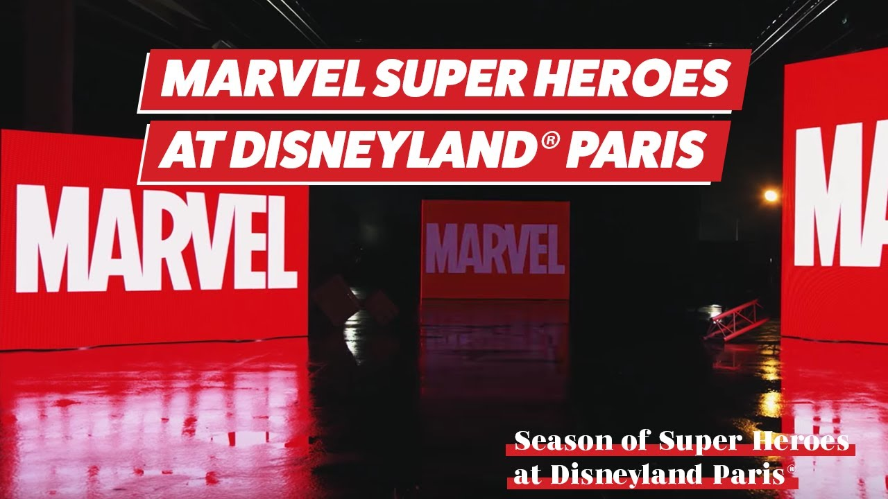 Marvel Super Heroes come to Disneyland Paris in summer 2018 w/subtitles