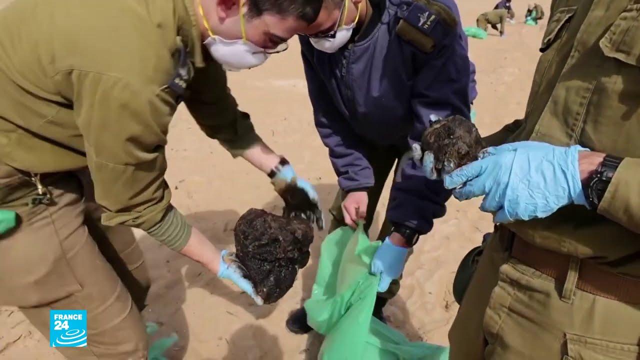 إسرائيل تتهم إيران بممارسة -الإرهاب البيئي- وتسريب أطنان من القطران على شواطئ المتوسط  - نشر قبل 49 دقيقة
