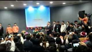 Daw Aung San Suu Kyi meets Burmese Families in South Korea