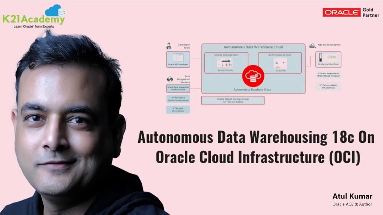 Autonomous Data Warehousing 18c On Oracle Cloud Infrastructure (OCI)