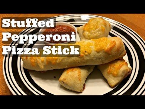 Stuffed Pepperoni Pizza Sticks