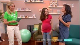 Comment bien respirer pendant la grossesse - Tuto d'Hafida - La Maison des Maternelles
