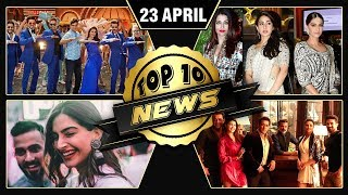 Sonam Kapoor's Wedding Venue, Race 3 Song, Salman Viral Photo | Top 10 News