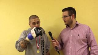 Sam Diplock BCMMA 10 Post-fight Interview