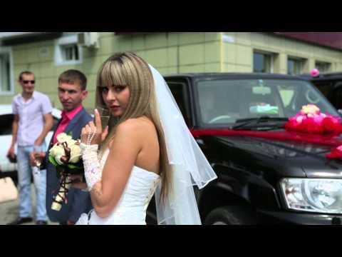 Свадебная видеосъемка Full HD 4K Утро невесты выкуп ЗАГС прогулка банкет в Находке во Владивостоке