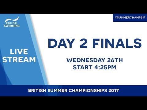 British Summer Champs 2017 – Day 2 Finals