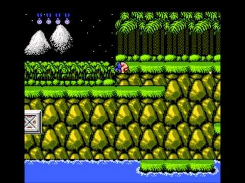 Contra NES (HD) Secrets: 30 Lives Contra Code